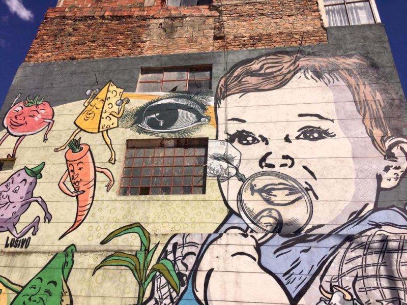 Bogota Graffit