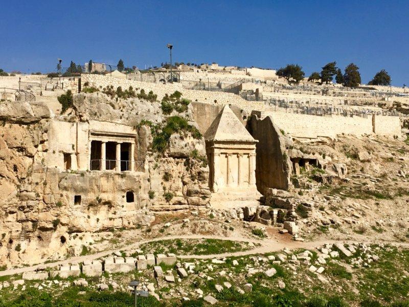 Jerusalem_Zecharias' Tomb